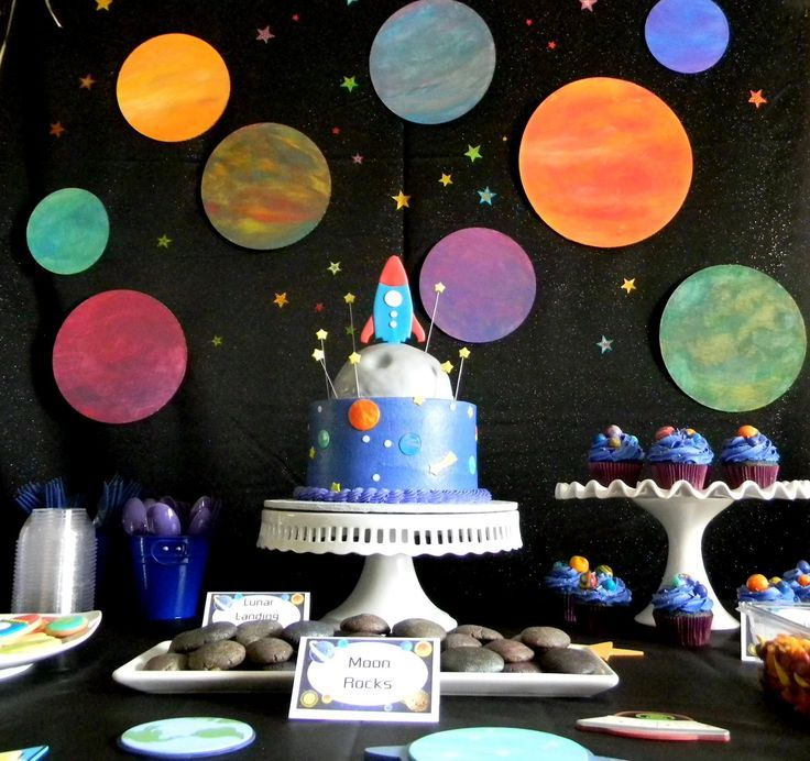 Outerspace Kids Party Ideas
